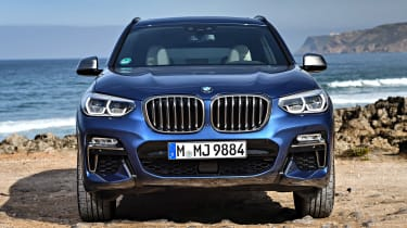 BMW X3 M40i - full front static