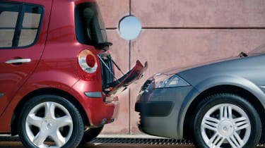 Renault Modus boot chute