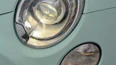 Fiat 500 Cult 2014 front lights