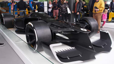 Renault R.S. 2027 Vision F1 concept - Goodwood front