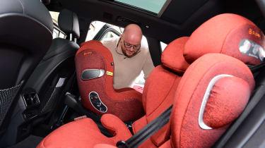Audi Q5 PHEV long-termer - first report car seat