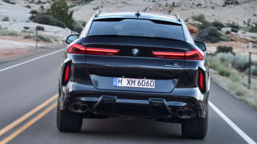 BMW X6 M Competition - full rear