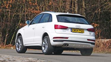 Audi Q3 - rear cornering