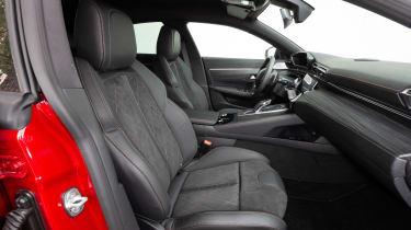 Peugeot 508 - front seats