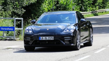 It's almost a case of 'as you were' for the luxurious Porsche Panamera sports saloon, with just a few light changes to the exterior and potential refreshing of hybrid power.