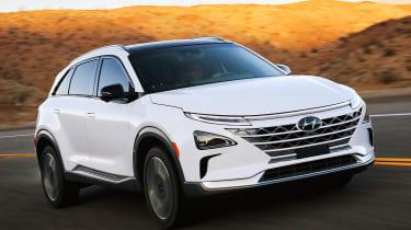 Hyundai NEXO fuel cell SUV - front