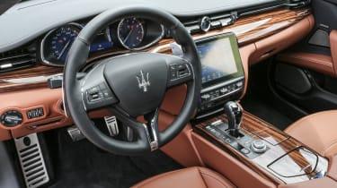 Maserati Quattroporte Diesel 2016 - interior