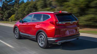 New Honda CR-V - rear