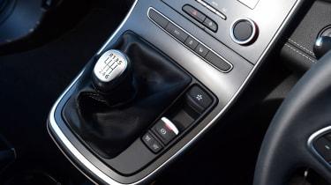 Renault Grand Scenic - centre console