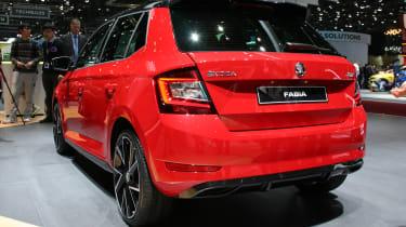 Skoda Fabia facelift - Geneva rear