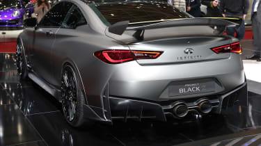 Infiniti Q60 Project Black S Geneva - rear