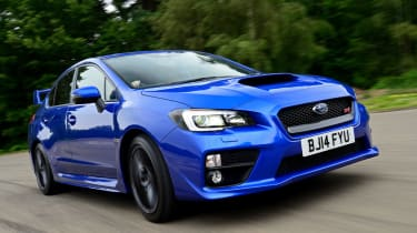 Subaru WRX STi 2014 - front