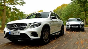 Mercedes GLC 43 vs Porsche Macan S - header 2