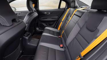 Volvo S60 Polestar Engineered - rear seats
