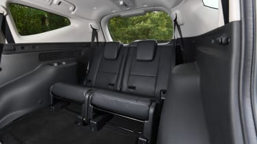 mitsubishi shogun sport rear seats third row