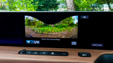 Honda e - screen