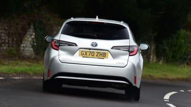 Toyota Corolla Touring - rear cornering