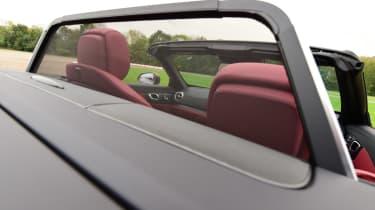 Mercedes SL 400 - wind deflector
