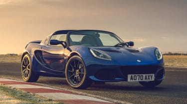Lotus Elise Final Edition - front static