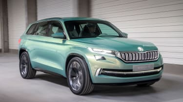 Skoda VisionS concept - front