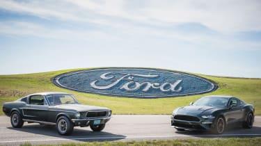 Ford Bullitt Mustang GT - new and original