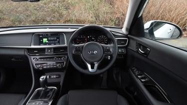 Kia Optima 2016 - dashboard