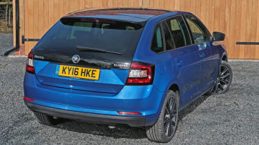 Used Skoda Rapid Spaceback - rear