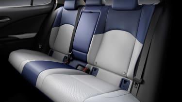 Lexus UX 300e - rear seats