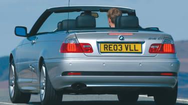 BMW 3 Series E46 rear