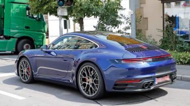Next generation Porsche 911 static rear