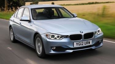 BMW 3 Series front tracking