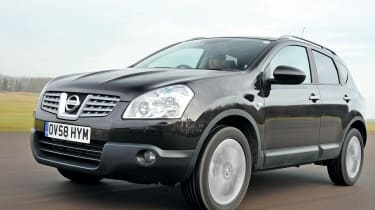 Despite its 4x4 looks, Qashqai drives as well as any family hatchback