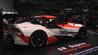 Toyota GR Supra concept Geneva 2018 rear