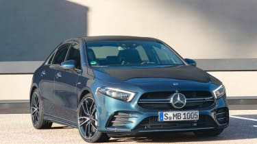 Mercedes-AMG A 35 Saloon - front static