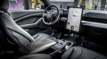 Vegan cars: Ford Mustang Mach-E