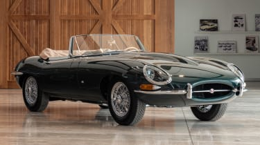 Jaguar E-Type 60 Collection - roadster front