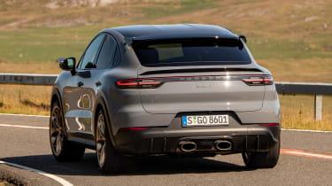 Porsche Cayenne Coupe Turbo GT - rear cornering