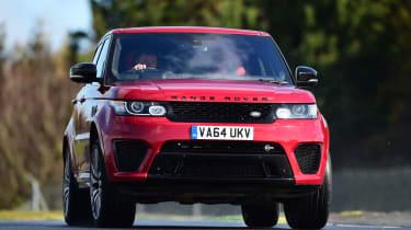 Range Rover Sport SVR - front action