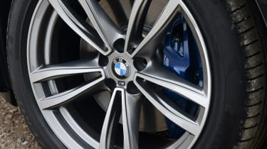 BMW 6 Series GT - wheel detail