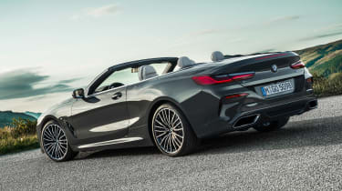 BMW 8 Series Convertible - side/rear static