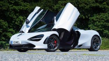 McLaren 720S - front door open