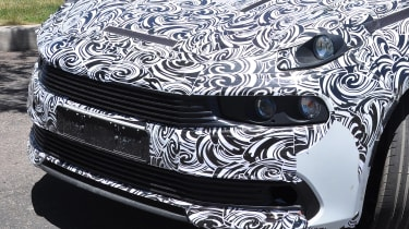 Lynk & Co 03 spy shots front close up