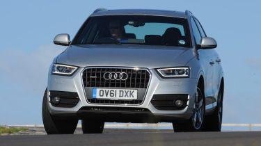Audi Q3 front cornering