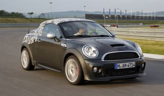 MINI Coupé front tracking 1