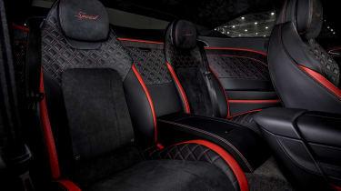 Bentley Continental GT Speed - rear seats