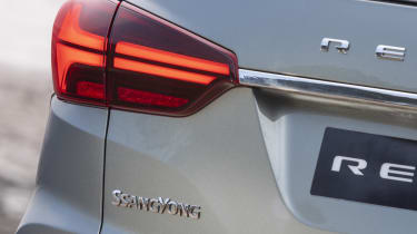 Facelifted SsangYong Rexton