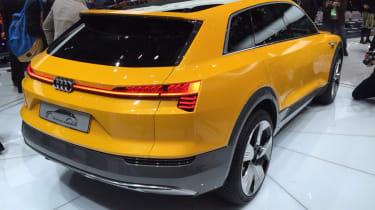 Audi h-tron concept - show rear quarter