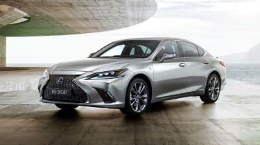 Lexus ES F-Sport - front