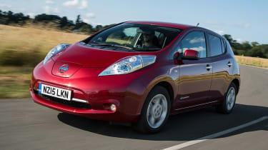 Nissan Leaf - best low emissions green cars