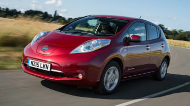 Nissan Leaf - best low emissions green cars